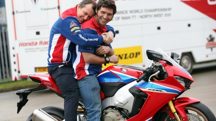 Guy Martin, John McGuinness: Teammates talk