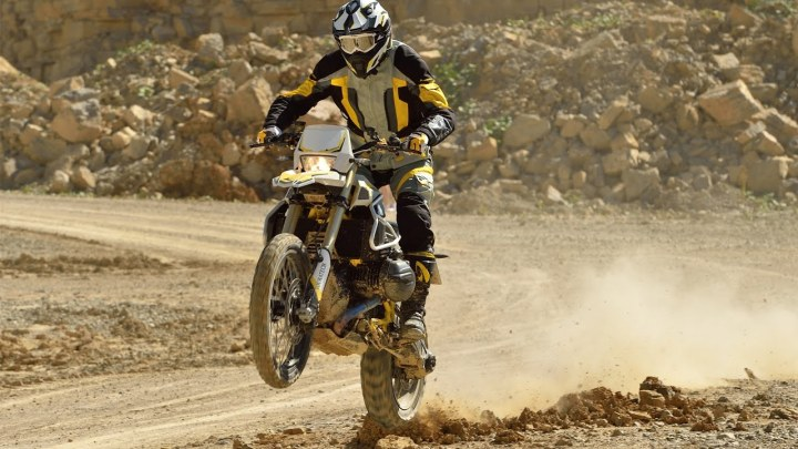 The Touratech R1200GS Rambler: A hybrid that works?