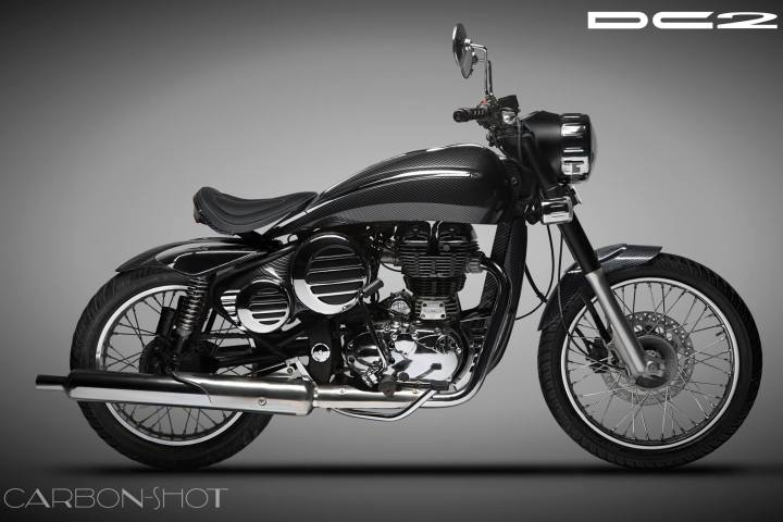 DC Design will give your Royal Enfield a retro sci-fi look