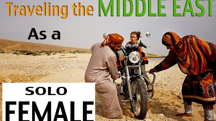 Video: Rosie Gabrielle rides the Middle East (and we ask her about it)