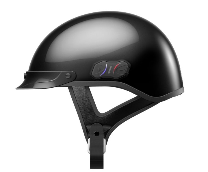 New Sena Cavalry offers half-helmet with integrated audio