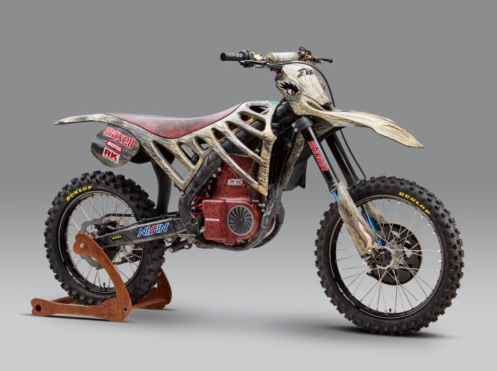 Mugen MX bike shown at Tokyo show