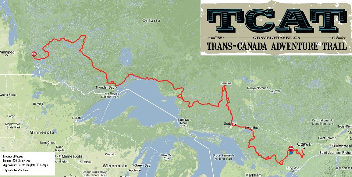 How to do the Trans Canada Adventure Trail