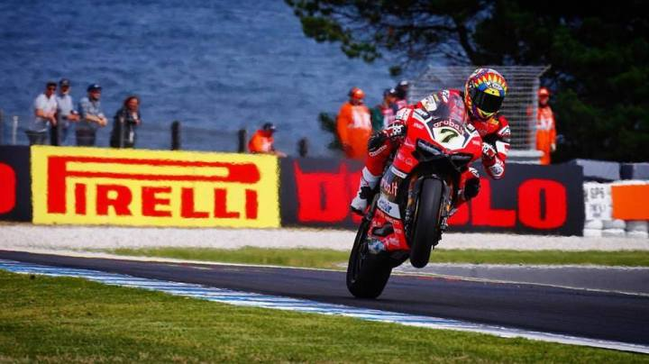 Race report: World Superbike in Spain