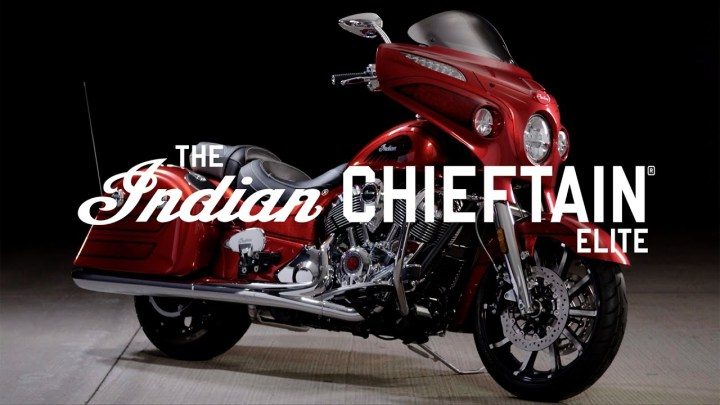 New Indian Chieftain Limited, Chieftain Elite debut