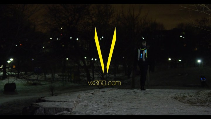 VX360 visibility gear aims to help you be seen