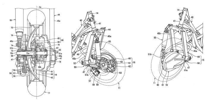 Report: Suzuki patents design for two-wheel-drive scooter