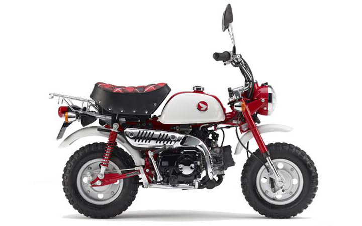 Honda Z50 monkey bike discontinued