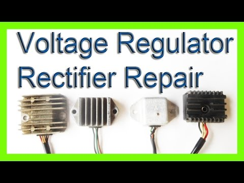 Video: Ichiban Moto repairs a rectifier/regulator