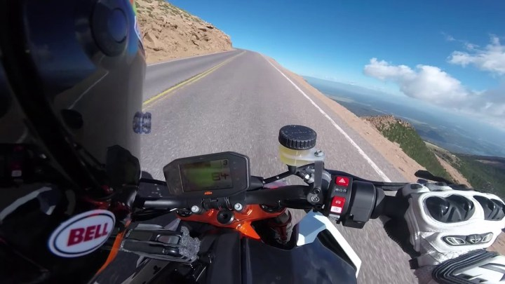 Here's what it takes to set a lap record at Pikes Peak