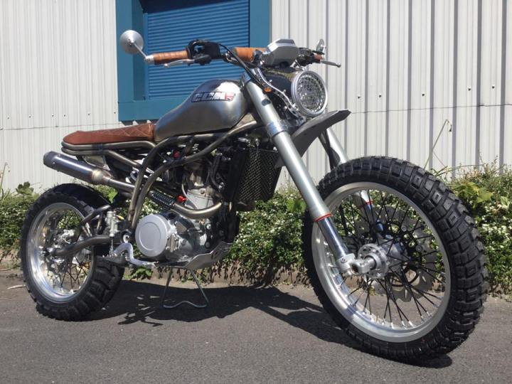 Here are photos of the CCM Spitfire Scrambler