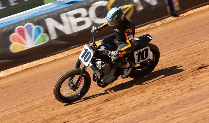 Catch AMA flat track racing on NBC Sports this summer