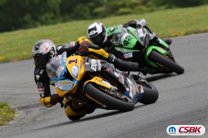 Szoke rules, again, at Canadian Superbike