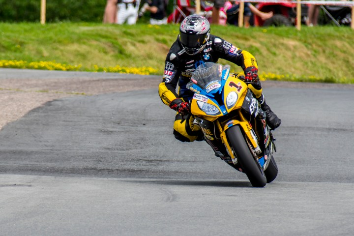 Jordan Szoke loses lead in BMW Motorrad Race Trophy