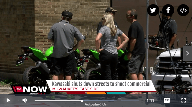 Milwaukee news station tips return of Ninja 400