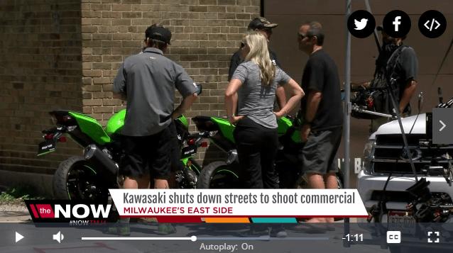 Milwaukee news station tips return of Ninja 400