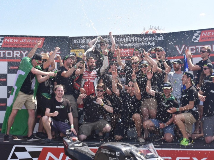 University of Sherbrooke wins eMotoRacing Varsity Challenge