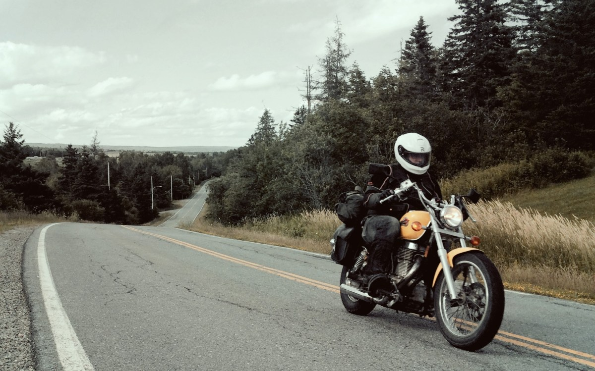 Back to basics: Touring on a $1,000 Suzuki Savage