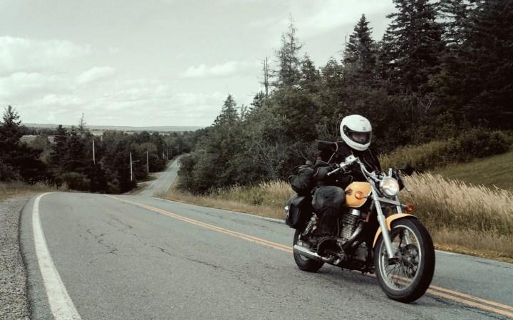 Back to basics: Touring on a $1,000 Suzuki Savage