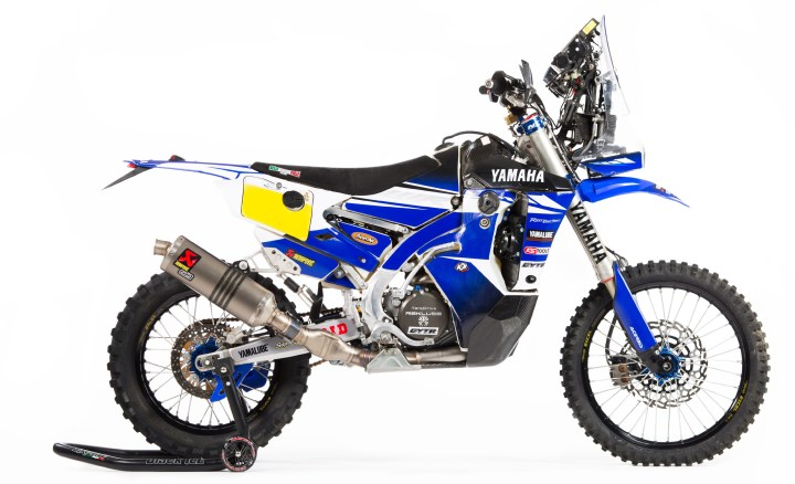 Now you can buy your own Yamaha WR450F Rally Replica
