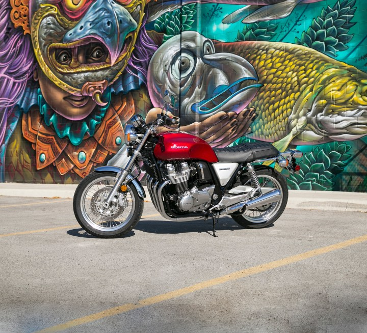 2017 Honda CB1100EX: Old is new again