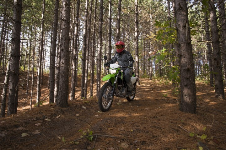 2018 Kawasaki KLX 250: Confidence, but little trickery