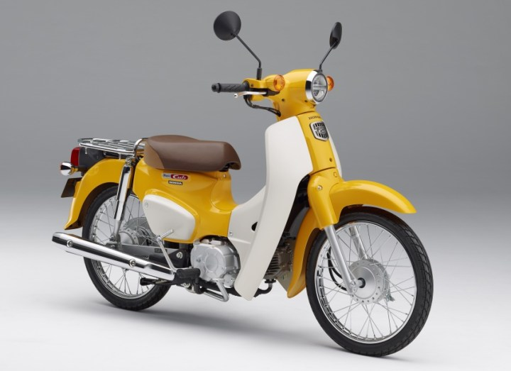 Honda updates Super Cub models