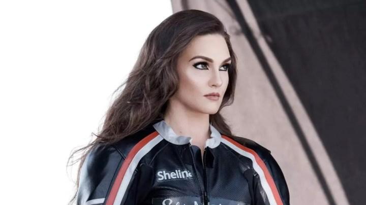 The latest CoverGirl? Roadracer Shelina Moreda