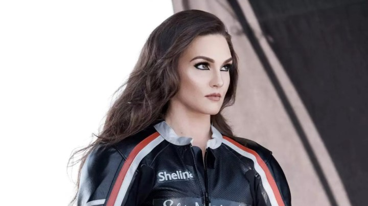 The latest CoverGirl? Roadracer Shelina Moreda