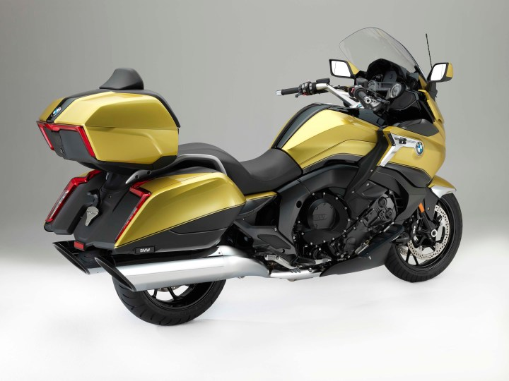 Big, bad Beemer: The BMW K1600 Grand America has arrived