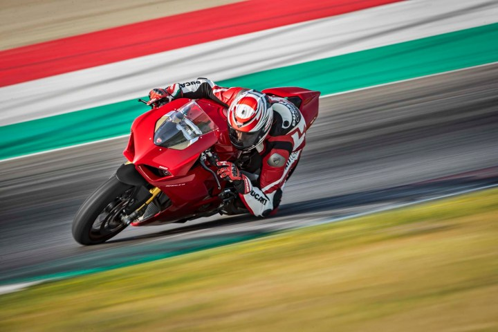 The Ducati Panigale V4 sets a new superbike benchmark