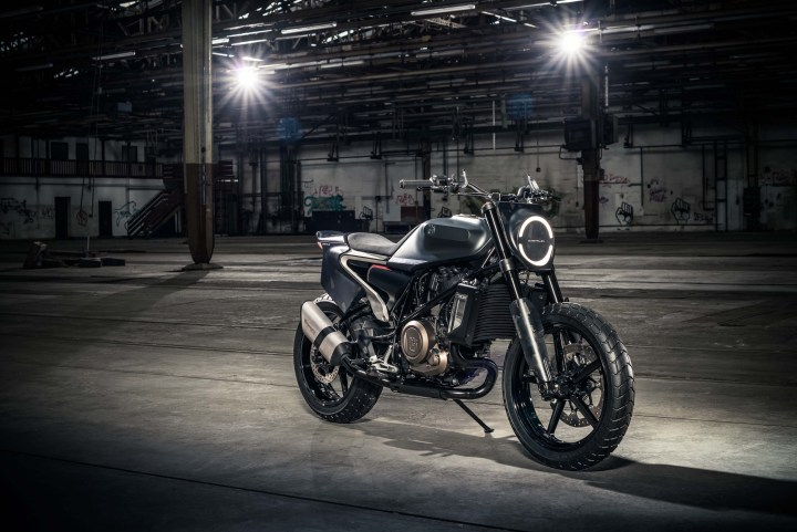 The Svartpilen 701 concept: Husqvarna hijacks the flat tracker concept