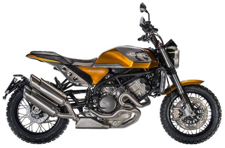 Everybody's doing it: Moto Morini builds a scrambler