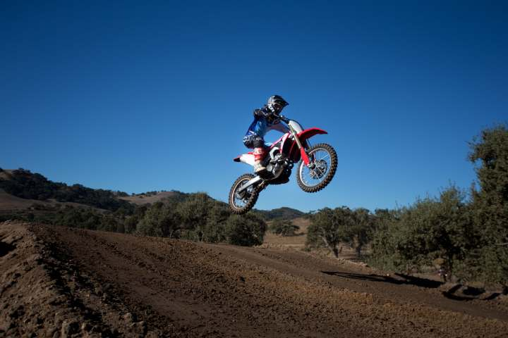 First ride: Honda CRF250R