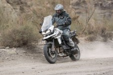 Like its predecessor, this version of the Triumph 1200 is definitely aimed at street usage primarily, but it gets the job done in the dirt, as long as you don't push it too hard.