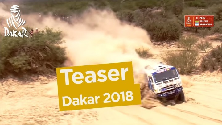 It's coming: The 2018 Dakar rally video teaser
