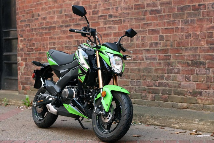 Kawasaki Z125 Pro: Urban hoonery