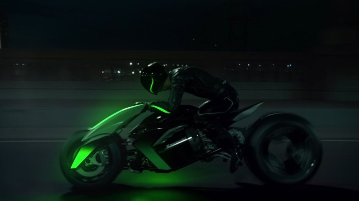Kawasaki hints again at future three-wheeler