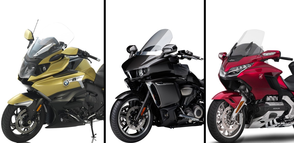 Showroom Showdown: Honda Gold Wing vs. BMW K1600GA vs. Yamaha Star Venture