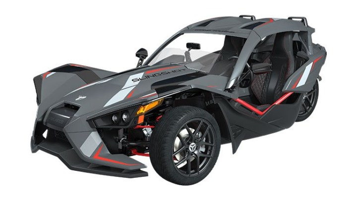 Polaris Slingshot Grand Touring LE unveiled