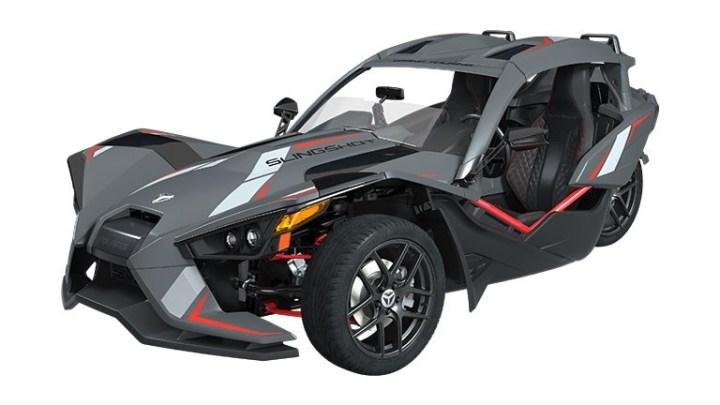 Polaris Slingshot Grand Touring LE unveiled