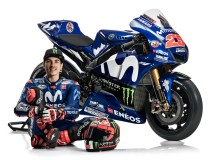 Maverick Vinales, seen here with the 2018 Yamaha bike, when all was rosy between the factory squad and the Spanish rider. Looks like that relationship has gone seriously sour now. Photo: Yamaha Racing
