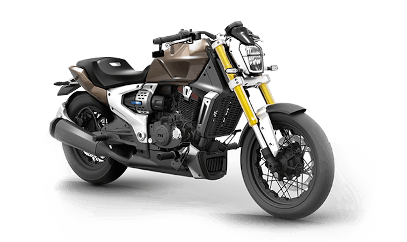 TVS debuts hybrid gas/electric cruiser concept
