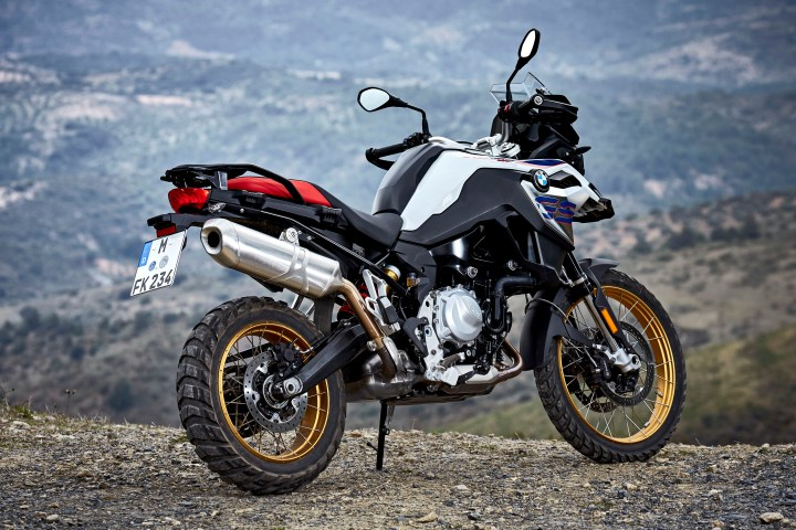 first rides 2018 bmw f750gs and f850gs canada moto guide. Black Bedroom Furniture Sets. Home Design Ideas