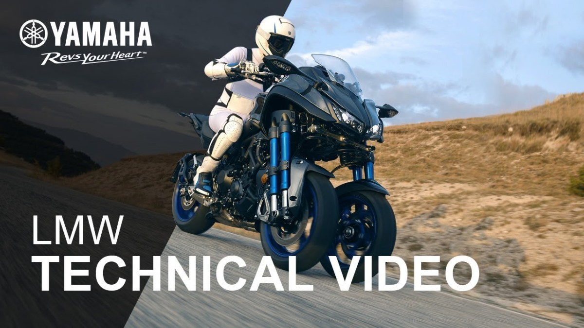 Video: Here's how the Yamaha Niken suspension works