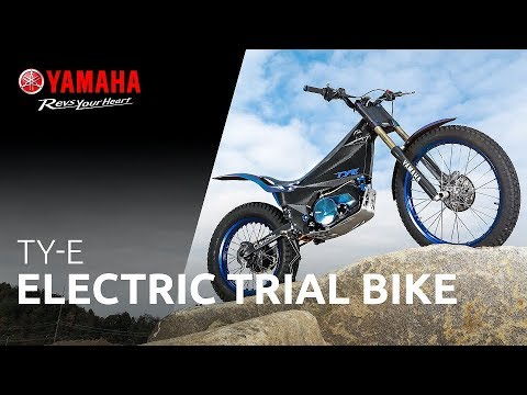 Here's Yamaha's new electric trials bike