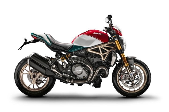 New 25th anniversary Ducati Monster 1200 edition announced