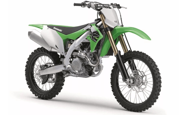 New Kawasaki KX450 breaks cover