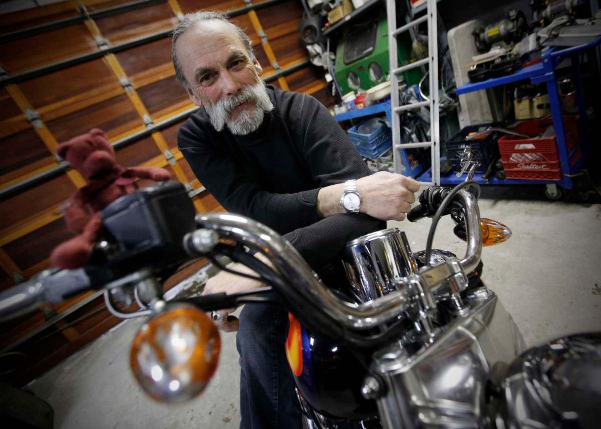 Robyn Gray: biker and friend