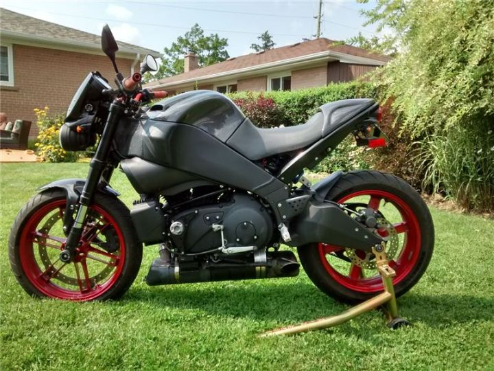 Find of the Month: 2009 Buell XB9SX Lightning CityX